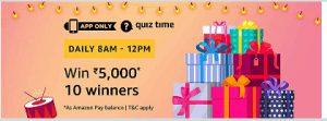 amazon 28th september quiz answers