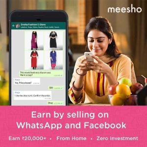 messho referral code