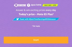 moto e5 quiz answers