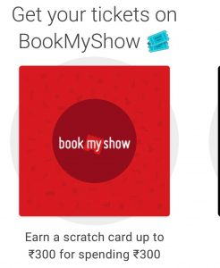 get your tickets on bookmyshow