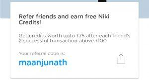 niki referral code