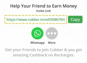 Cubber Referral Code: