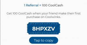 Coolwinks referral code