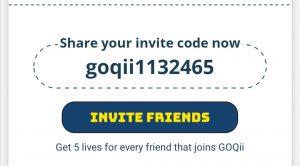 Goqii referral code
