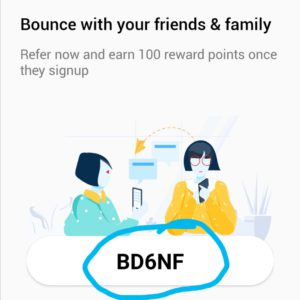 Bounce referral code