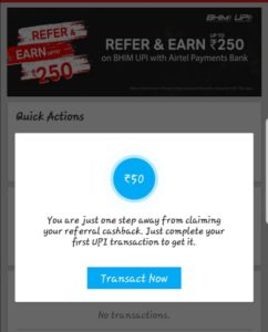 transfer money now to get 40 cashback