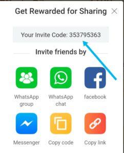 Club Factory invite code (or) invitation code (or) referral code