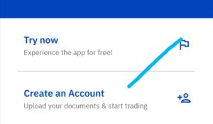 Click on create new account