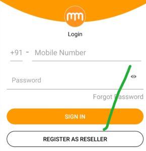 Register as seller on milmila