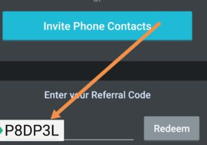 Apply referral code in testbook