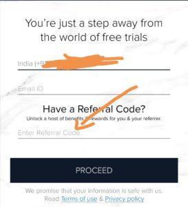 Apply smytten referral code