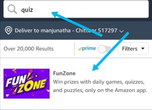 How to play the amazon quiz