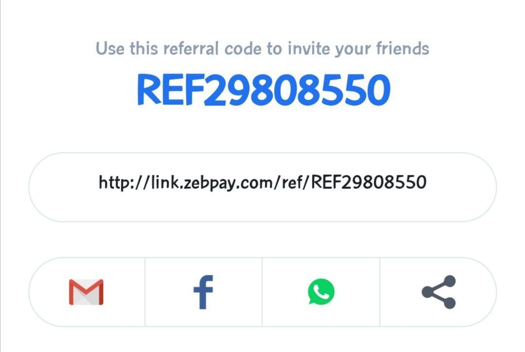libero bitcoin codice promozionale zebpay