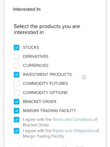 Select the products your interested in