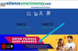 How to refer and earn rewards with reliance smart money