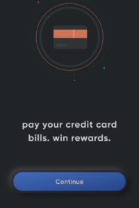Open cred app and click on continue