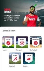 Select a team