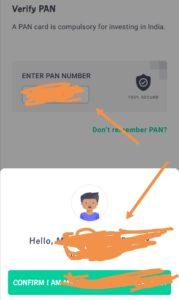Verify pan card
