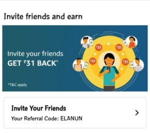 Amazon pay UPI referral code