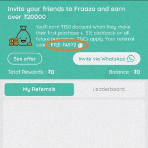 Fraazo-referral-code 3