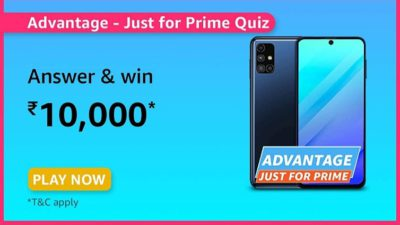 Advantage just for prime quiz answers