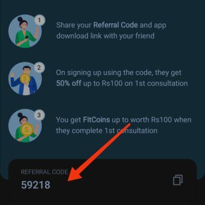 Tata health referral code